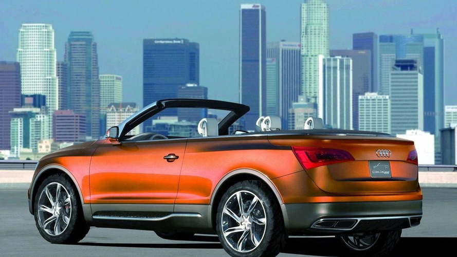 Audi Q5 Cabriolet coming in 2012 - report