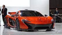 McLaren P1 concept live in Paris 27.09.2012