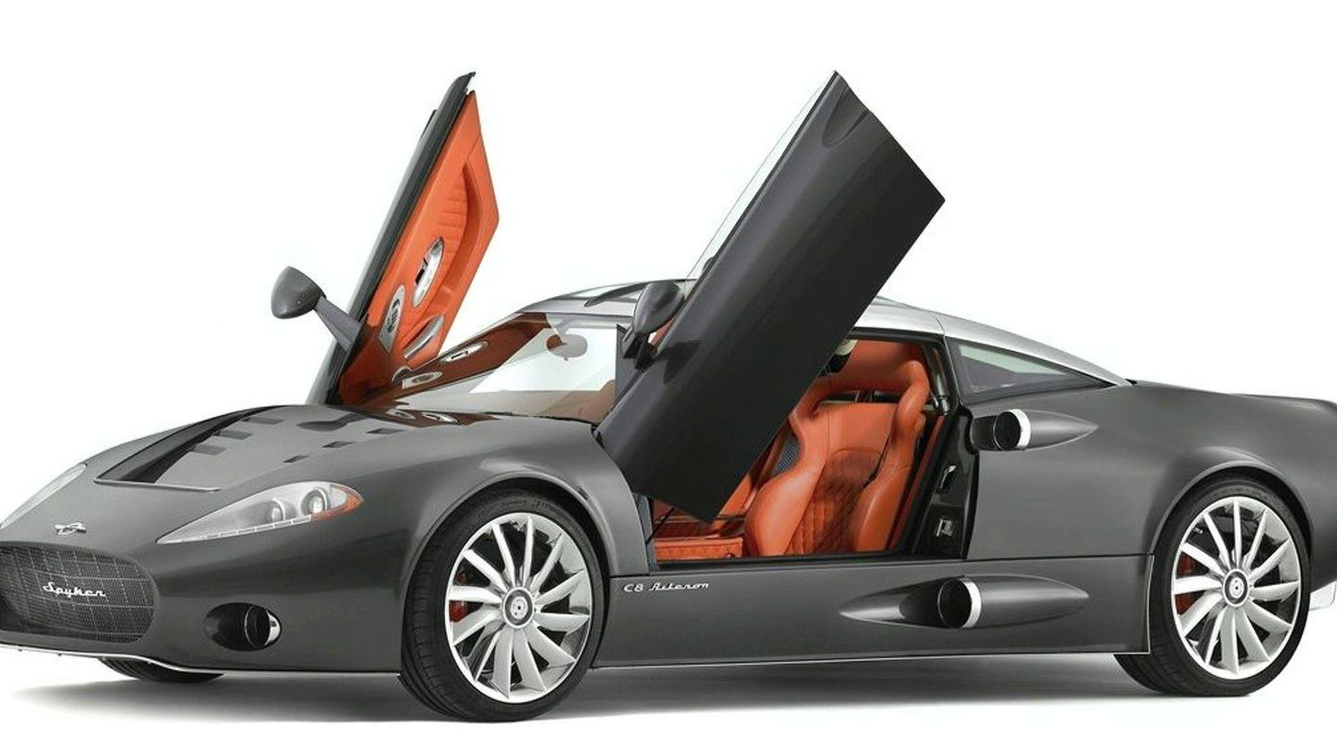 Spyker C8 Aileron to Make US Debut at Pebble Beach
