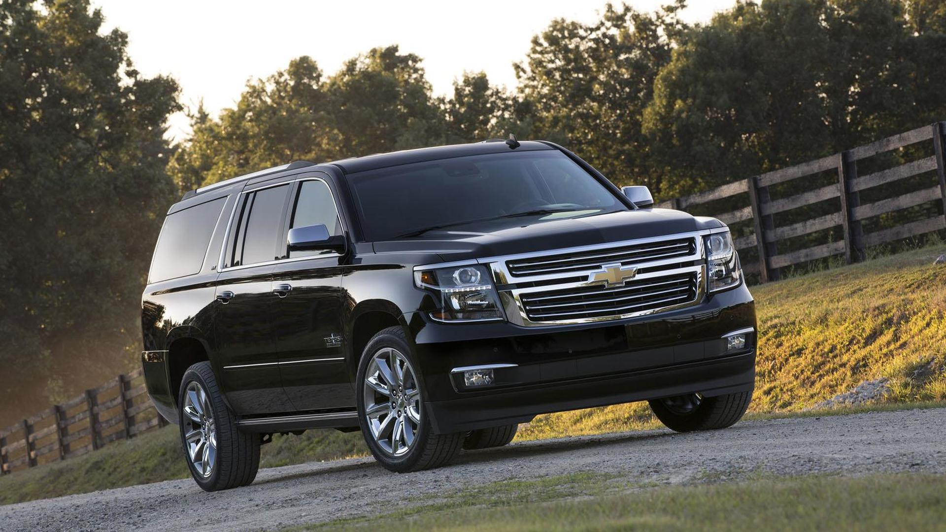 Chevrolet Tahoe & Suburban Texas Editions unveiled