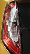 Facelifted Fiat Punto photographed once again