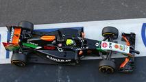 Spike Goddard (AUS), Sahara Force India F1 VJM07 Test Driver, 26.11.2014, Formula 1 Testing, Day Two, Yas Marina Circuit, Abu Dhabi / XPB