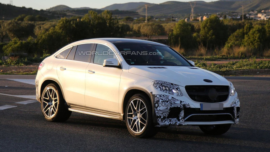 Mercedes-Benz GLE 63 AMG Coupe to debut at NAIAS?