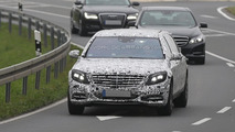 2016 Mercedes-Benz S-Class Pullman spy photo
