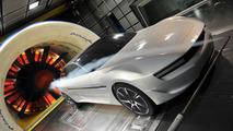 Pininfarina Cambiano Concept in wind tunnel 06.03.2012
