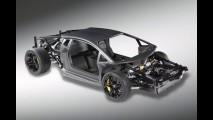 Lamborghini mostra estrutura do Aventador
