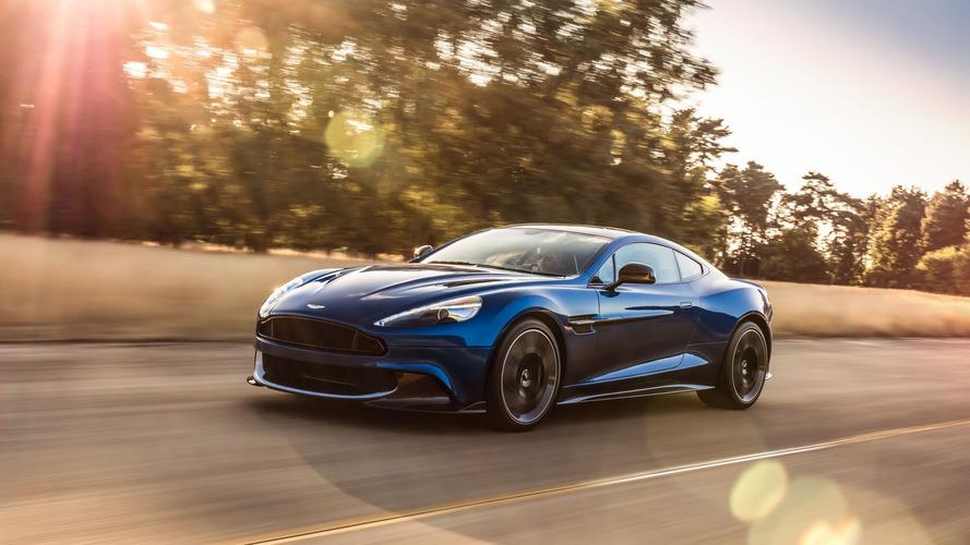 Aston Martin Vanquish S is current model's swan song