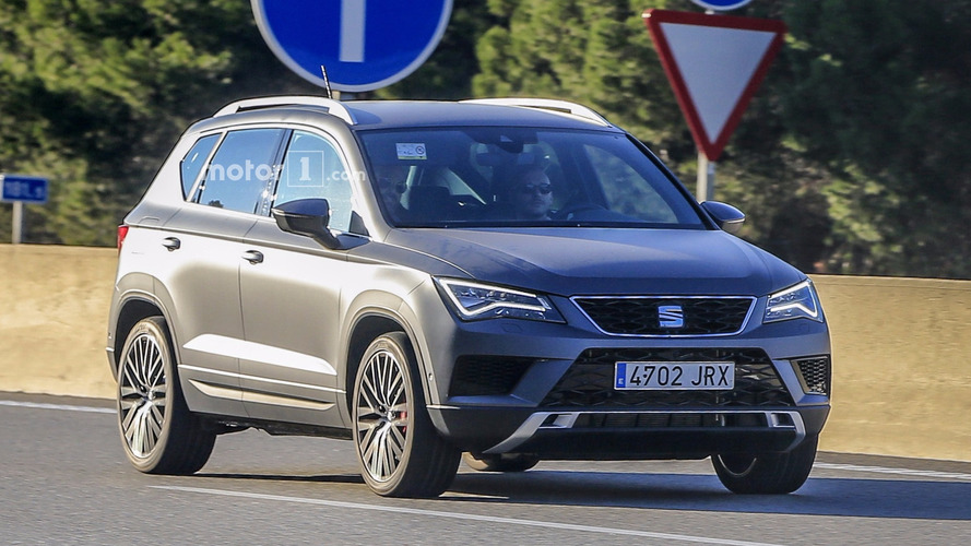 Say hello to the 300-hp SEAT Ateca Cupra