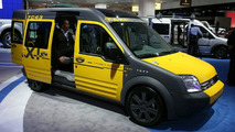 Ford Transit New York cab at New York Auto Show