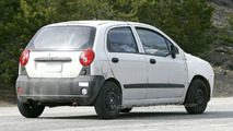 New Chevrolet Matiz Mule spy photos