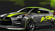 Hyundai Veloster gets turbo from ARK Performance for SEMA