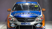 Mercedes-Benz E63 AMG V8 Supercars racer breaks cover
