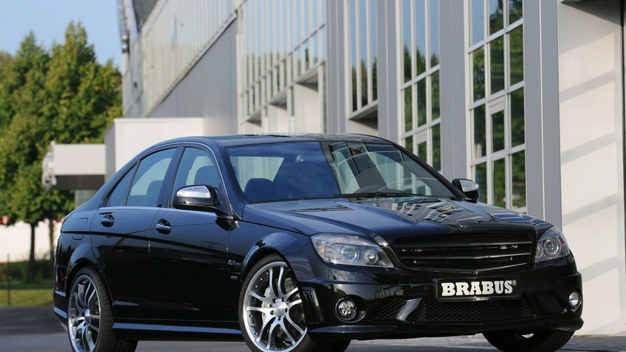 Brabus Pump a Little Extra Out of Mercedes C63 AMG