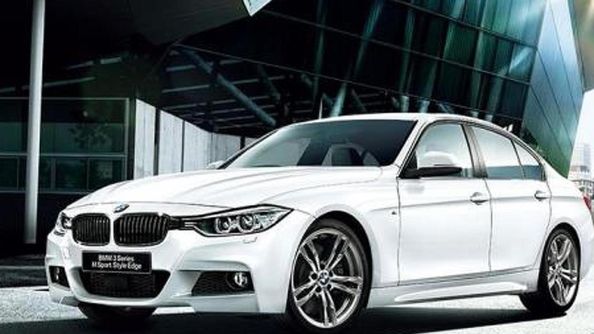 BMW 3-Series M Sport Style Edge limited edition announced