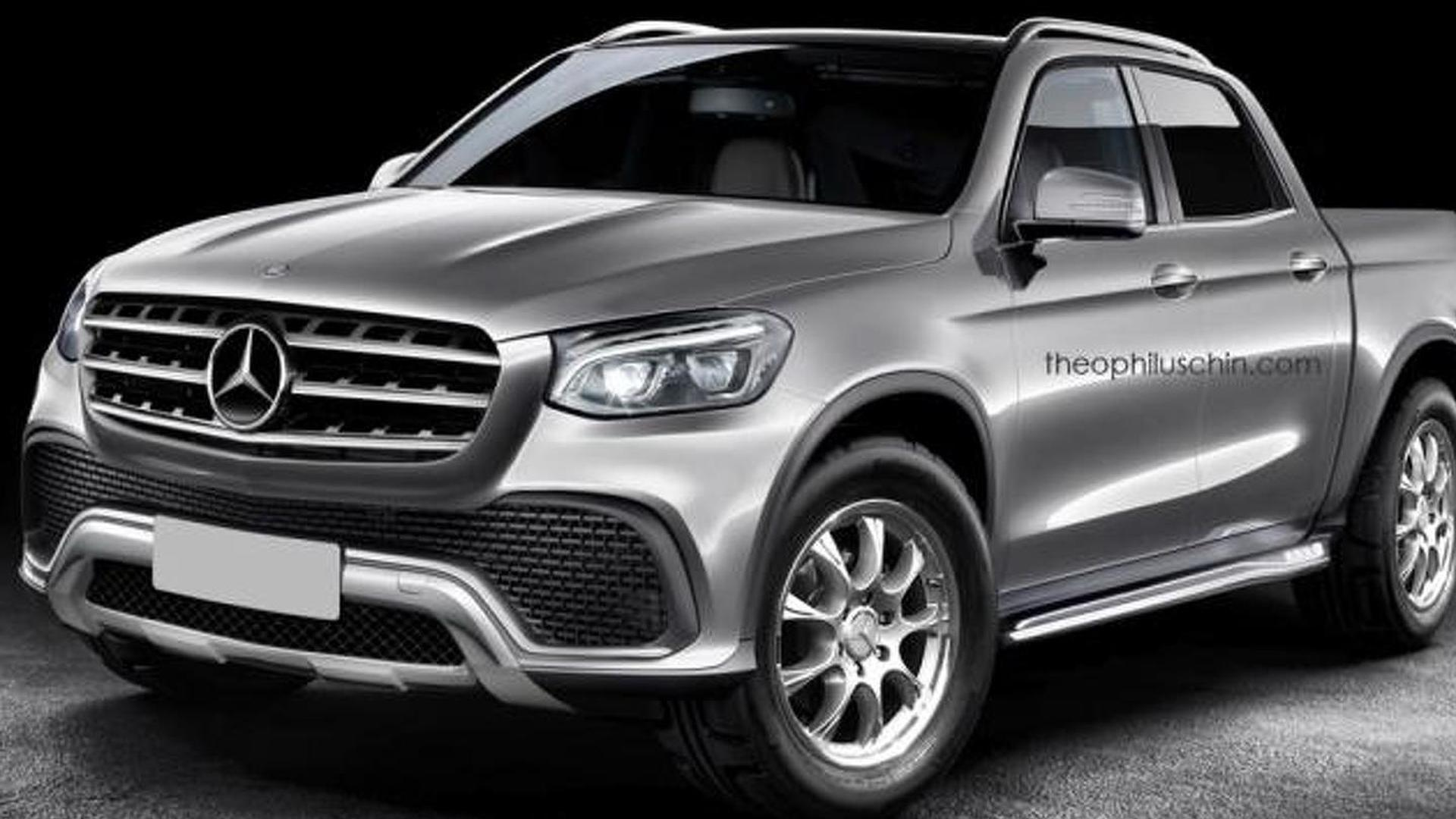 Mercedes-Benz says their pickup truck will be truly premium