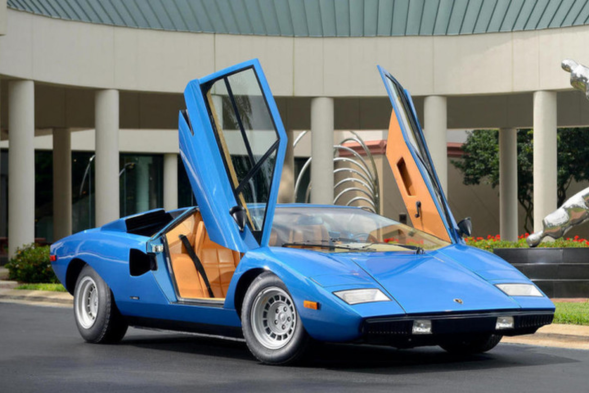 Lamborghini Countach Sells for Record $1.21 Million in Greenwich