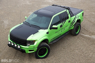 GeigerCars Ford Raptor is a Beast in Green
