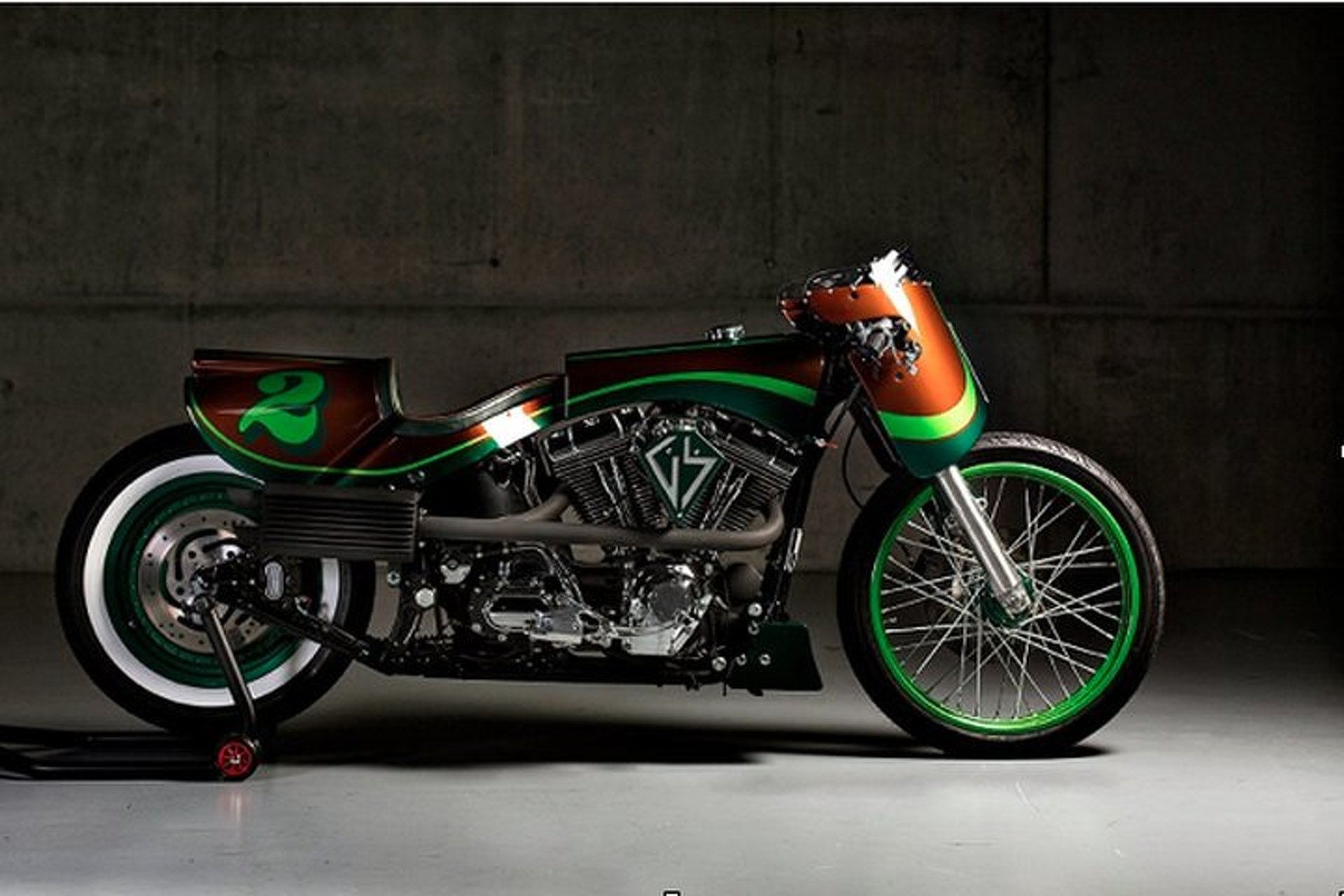 This Custom Harley Fat Boy is a Rolling Work of Art