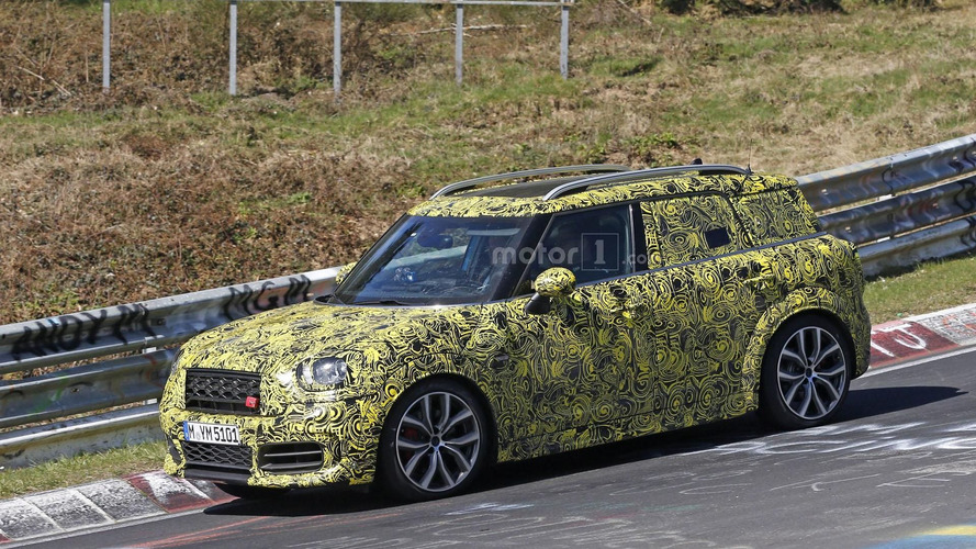 Mini Countryman John Cooper Works spied on the Nürburgring