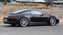 2018 Porsche 911 spy photo