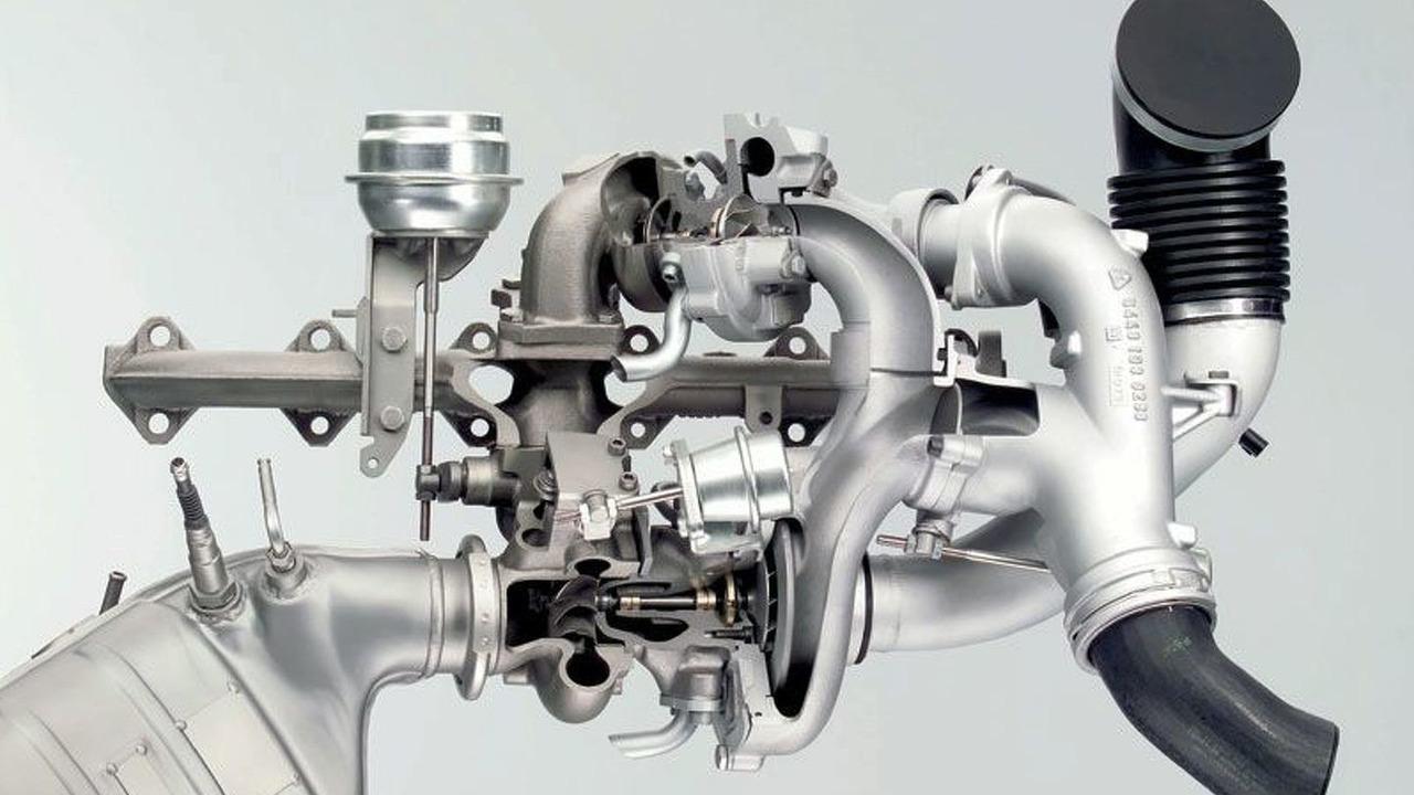 BorgWarner dual stage turbo R2S systems