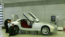 Production of the Mercedes-Benz SLR McLaren