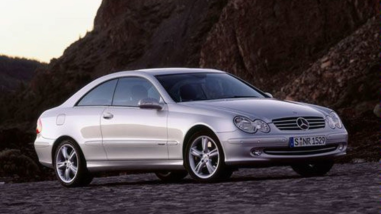 New Mercedes-Benz CLK 500 Avantgarde