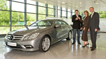 First Mercedes E-Class Coupe Delivered