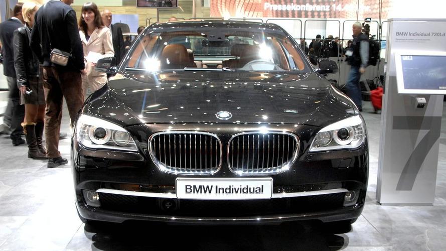 BMW 730 Ld World Debut in Geneva
