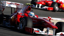 Ferrari engineer working on diffuser for 'B' car