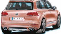 JE Design previews 2011 VW Touareg wide body conversion kit