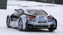 BMW i8 spied in the Arctic Circle