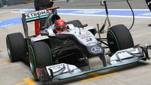 Mercedes 'wrong' to focus on Schumacher - Jordan