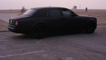 Matte Black Rolls-Royce Phantom