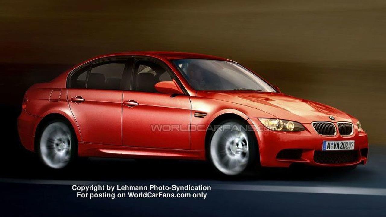 SPY PHOTOS: BMW M3 4-door - Artist Impression
