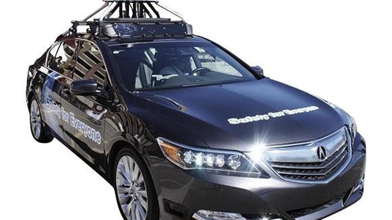 Honda Sensing driver-assistive prototype