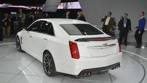 2016 Cadillac CTS-V live at NAIAS