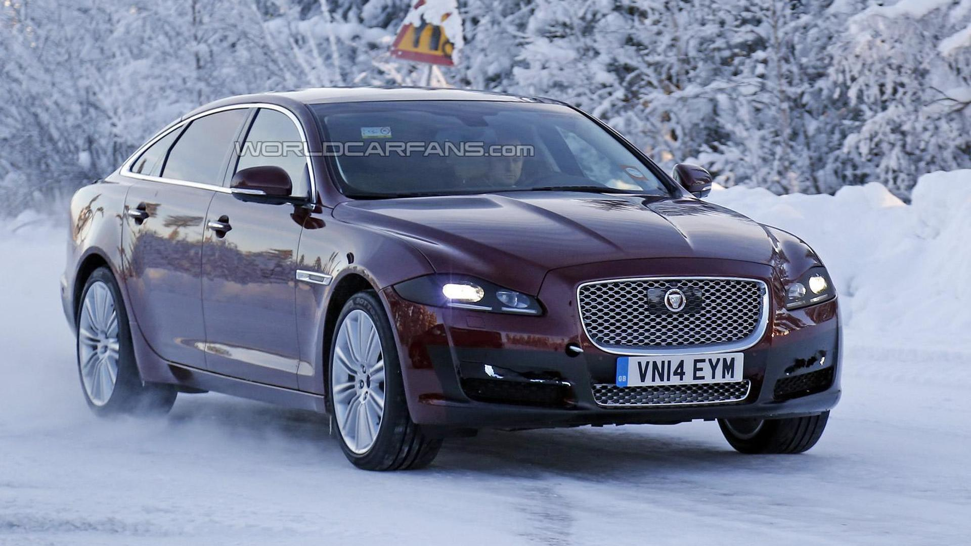 Jaguar XJ facelift spied hiding minor cosmetic revisions