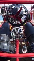 Volkswagen Beetle Convertible Shark Cage 24.7.2013