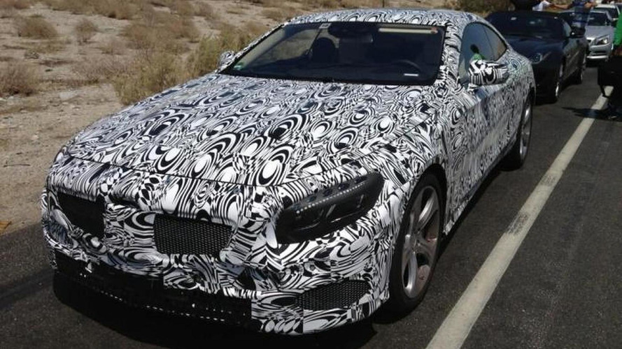 Mercedes exec tweets photos of the GLA & S-Class Coupe