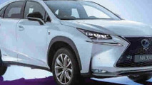 2015 Lexus NX production version