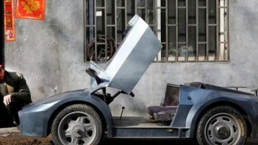 Meet the world's smallest supercar made by Chinese farmer