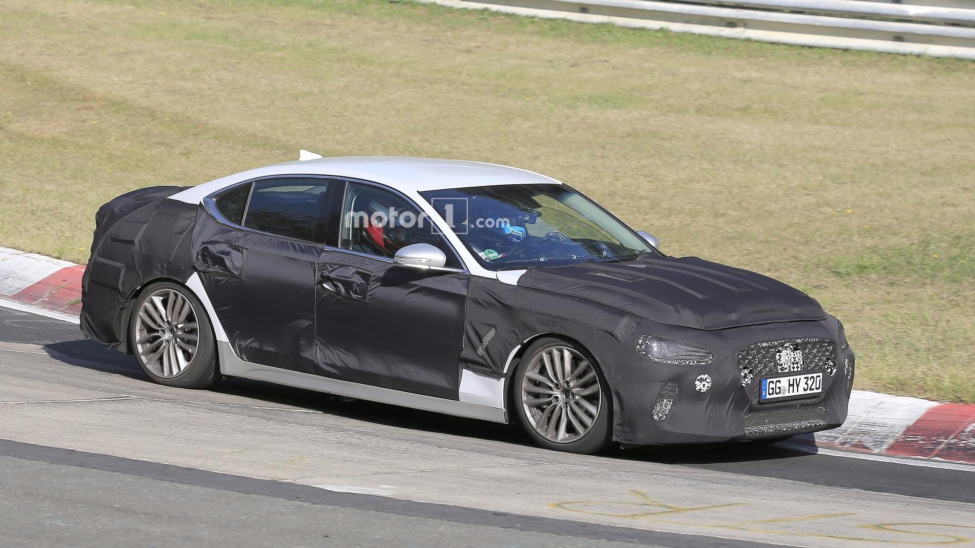 Genesis G70 looks promising while tackling the Nurburgring