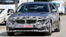 New BMW 5 Series spy photo