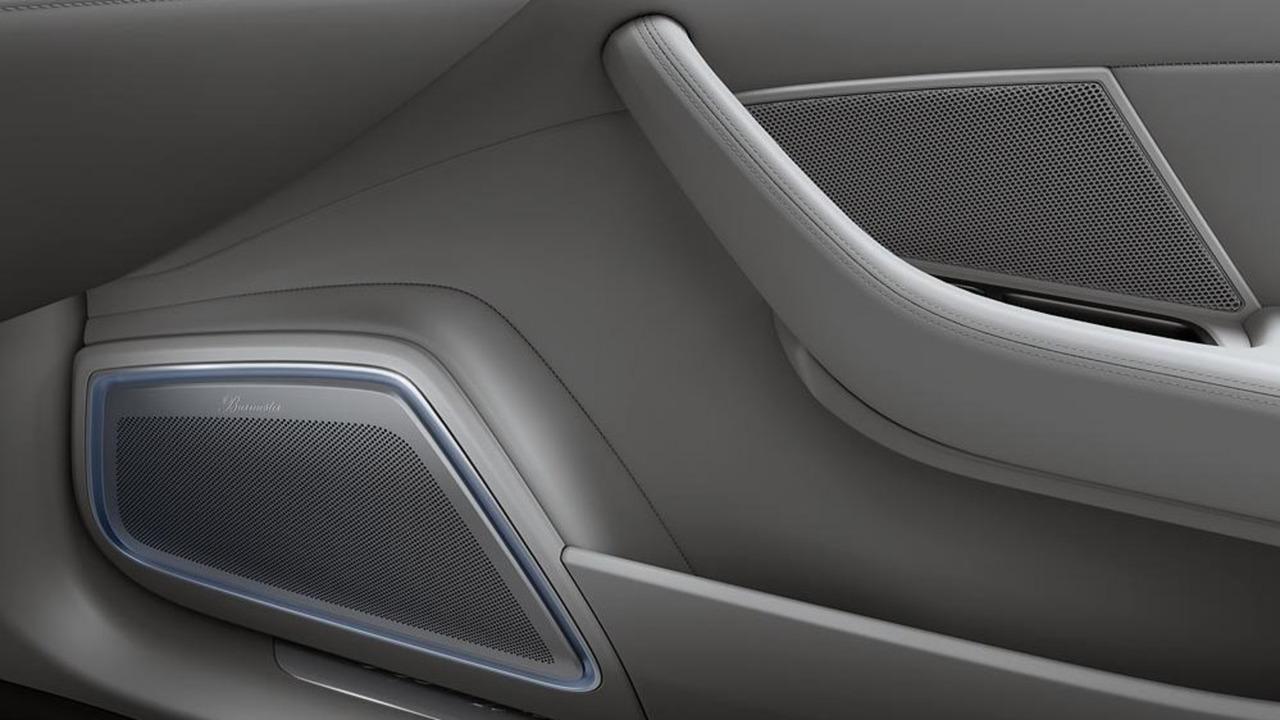 2017 Porsche Panamera 3D Burmester stereo