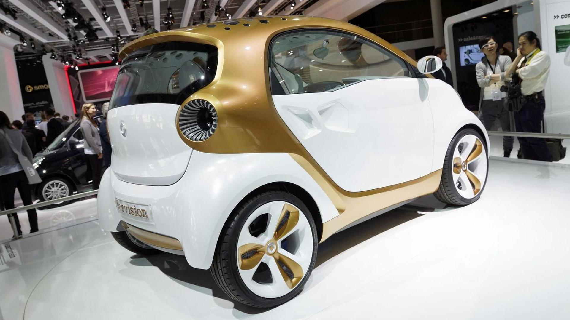 Smart electrifying entire line-up, including all-new Forfour Electric