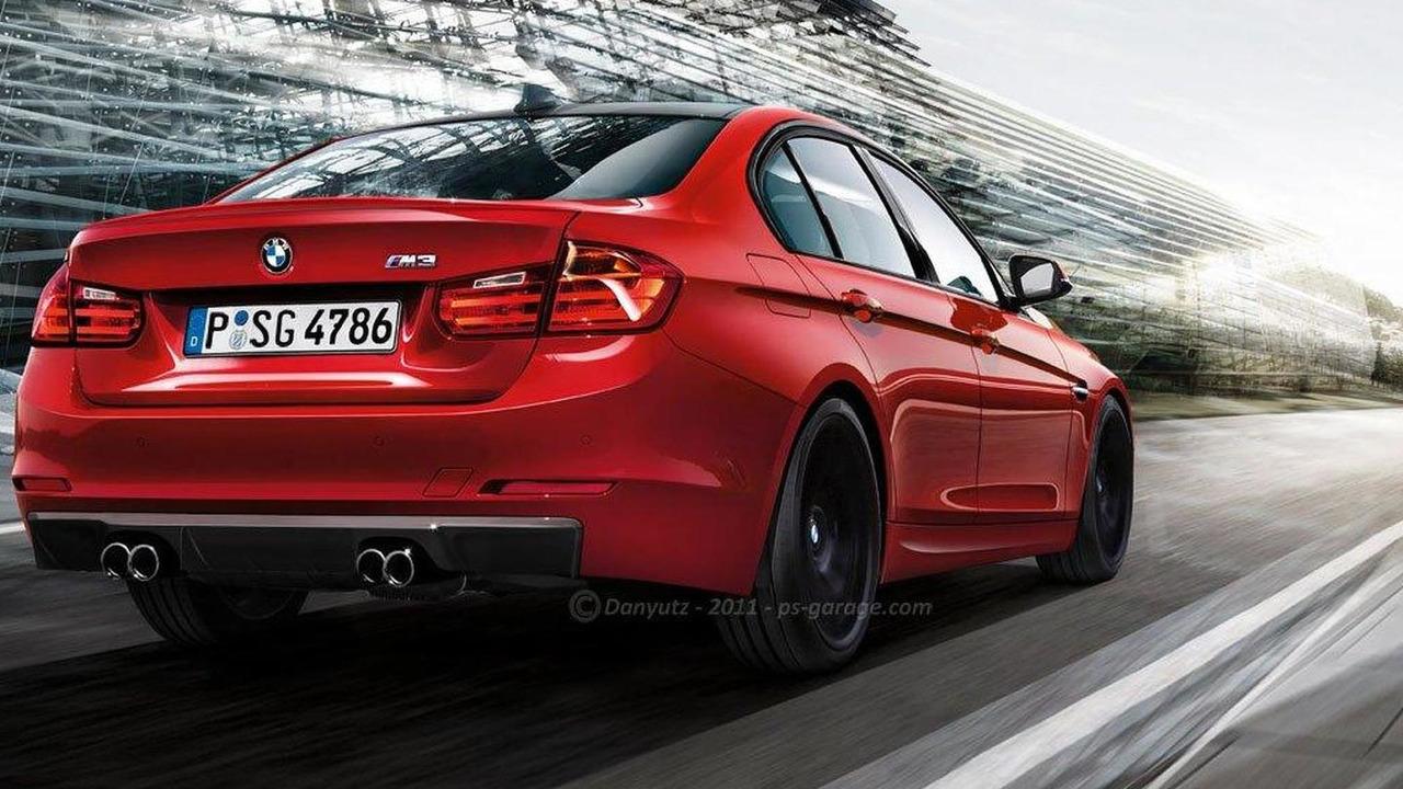 2014 BMW M3 rendered by PS Garage/Dan Buzdugan 17.10.2011