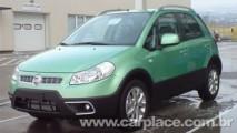 Fiat Sedici Crossover 2009 é flagrado - Irmão Suzuki SX4 é cogitado no Brasil