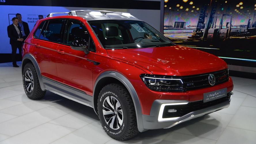 VW Tiguan GTE Active Concept previews US-bound SUV in Detroit