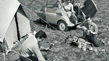 BMW Isetta camping